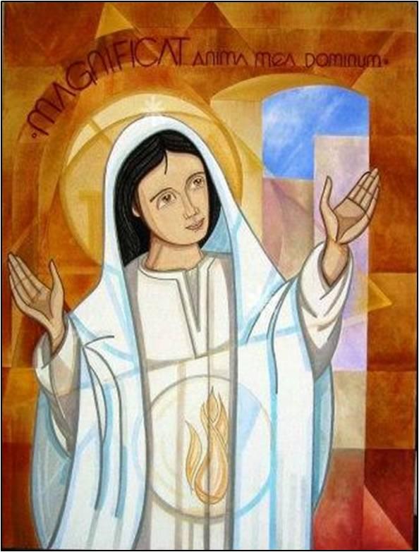 Mon âme exalte le Seigneur (Marie Magnificat anima mea Dominum)