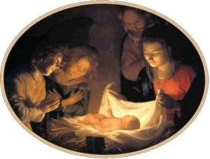 Nativité - Gerrit Van Honthorst - XVIe siècle
