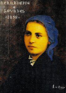 Bernadette Lourdes  1858