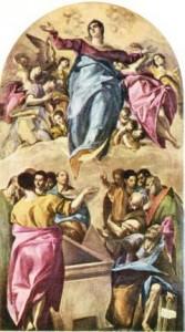 L'Assomption - Le Greco (1541-1614), Art Institut, Chicago