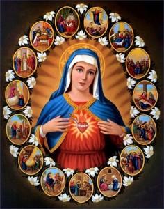 Coeur de Marie transpercé