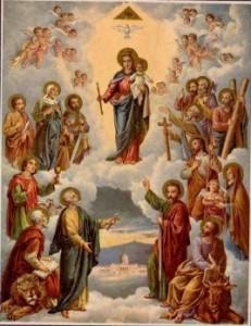 Reine de tous les saints