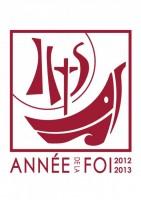 logo de l'année de la foi 2012