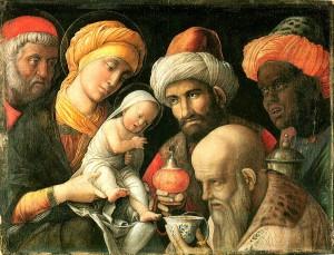 Andrea Mantegna (1431 - 1506) L' Adoration des mages - vers 1500 © The J. Paul Getty Museum, Los Angeles