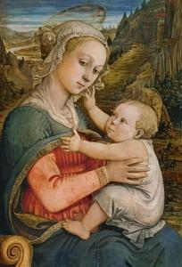 Fra Filippo Lippi - Marie avec l'enfant