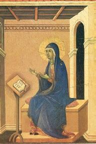 L'annonce de la mort de la Vierge Marie (détail) Duccio (1260-1319) musée de Sienne