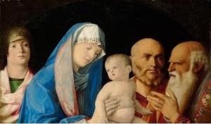 Présentation du Seigneur Giovanni Bellini (1430-1516)