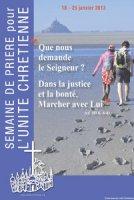 """unité des Chrétiens : """"Que nous demande le Seigneur ? Dans la justice et la bonté, marcher avec Lui."""""""