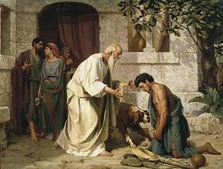 MÉDITATIONS CHRÉTIENNES POUR TOUTE L`ANNÉE - Pere Buse`e - Cie de Jésus - année 1708 Fils-prodigue