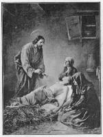 Jésus consolateur Ernst Zimmermann vers 1888