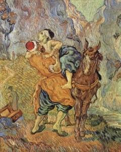 Vincent Van Gogh - Le Bon Samaritain d'après Delacroix, 1890