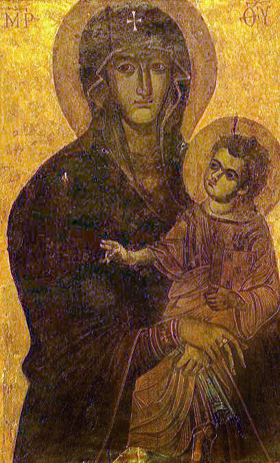 Marie, salut du peuple romain