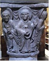 résurrection - saint-pierre de mozac - les saintes femmes