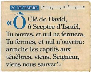 La Bonne Nouvelle du Christ annoncée à tous les Peuples! - Page 5 O-Cl%C3%A9-de-David-300x238