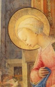 Vierge dans l'attente de l'enfantement