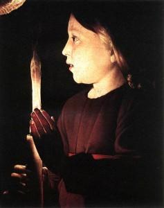 GEORGES DE LA TOUR - Le Christ dans la boutique du charpentier