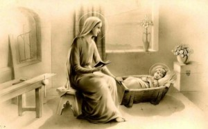 Marie sa mère gardait fidèlement tous ces souvenirs en son cœur