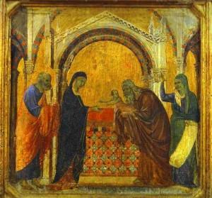 Duccio_di_Buoninsegna._Maesta_Face_de_la_predelle_Presentation_au_Temple._1308-11._Museo_dell_Opera_del_Duomo_Sienne._jpeg