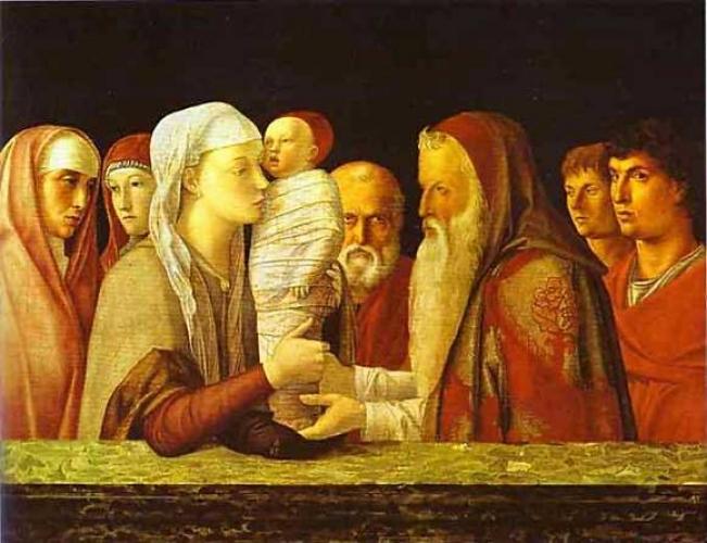 Giovanni Bellini (environ 1430 - 1516) La Présentation au Temple Vers 1460