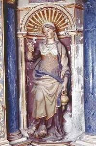 Bazouge sur le Loir - église saint Aubin sainte Marthe - Bouteiller