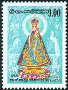 Notre Dame de de Madhu au Sri Lanka