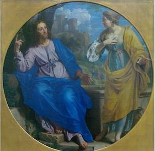Philippe de Champaigne Jésus et la Samaritaine