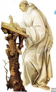 Apparition de la Vierge à saint Bernard