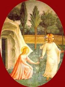Jésus ressuscité et Marie Madeleine Fra Angelico