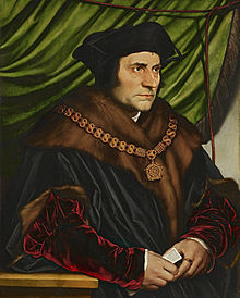 Hans Holbein le jeune - Sir Thomas More 1527 The Frick Collection New-York