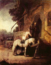 Rembrandt le bon Samaritain