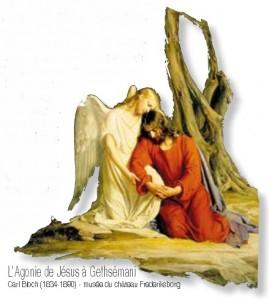 L'Agonie de Jésus à Gethsémani - Carl Bloch