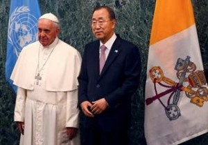 Le Pape aux Nations Unies