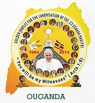 Le Pape en Ouganda