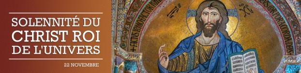 Solennité du Christ Roi