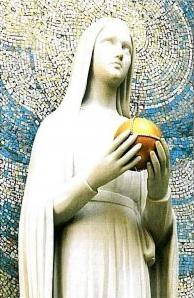 Vierge au globe