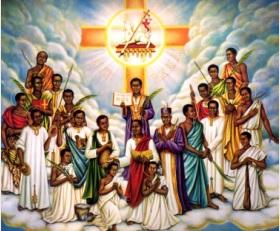 saints martyrs de l'Ouganda