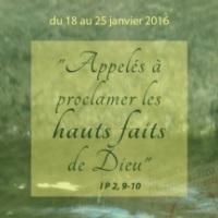 Appelés à proclamer les hauts faits de Dieu
