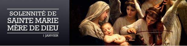 Bannière Sainte Marie Mère de Dieu