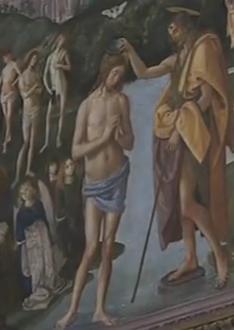 Baptême du Seigneur - chapelle SIxtine