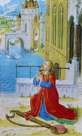 David priant après son adultère avec Bethsabée