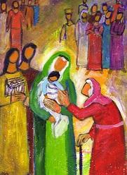 Présentation du Seigneur - avec la prophétesse Anne