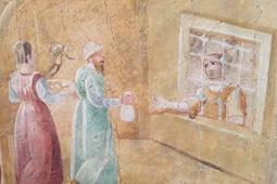 les oeuvres de miséricorde - visiter les prisonniers -église de Sainte Anne à Specchia Gallone - Lecce