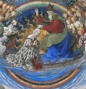 couronnement de la Vierge cathédrale de Spolete