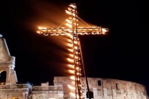 Via Crucis au Colisée