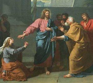 Germain-Jean DROUAIS Le Christ et la Cananéenne