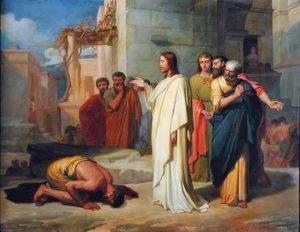 Jésus guérit un possédé