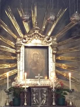 icône de Notre-Dame - cathédrale Saint Etienne Vienne Autriche