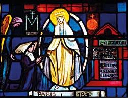 La Vierge aux rayons selon l'apparition à Sr Catherine Labouré