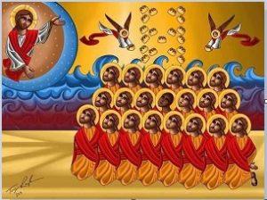 icone-des-21-coptes-martyrs-de-daesh