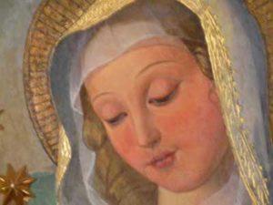 Marie dans l'attente
